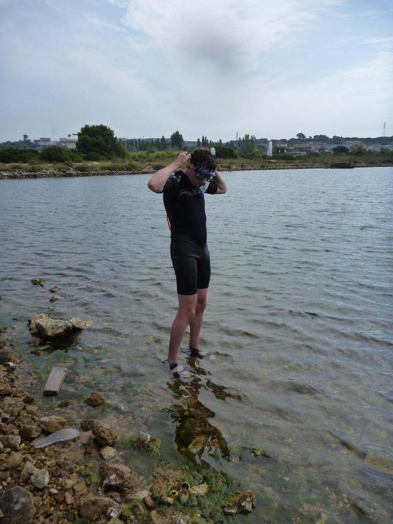 Le plongeur !