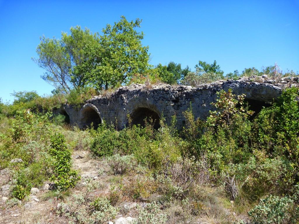 Autre tronçon de l'aqueduc
