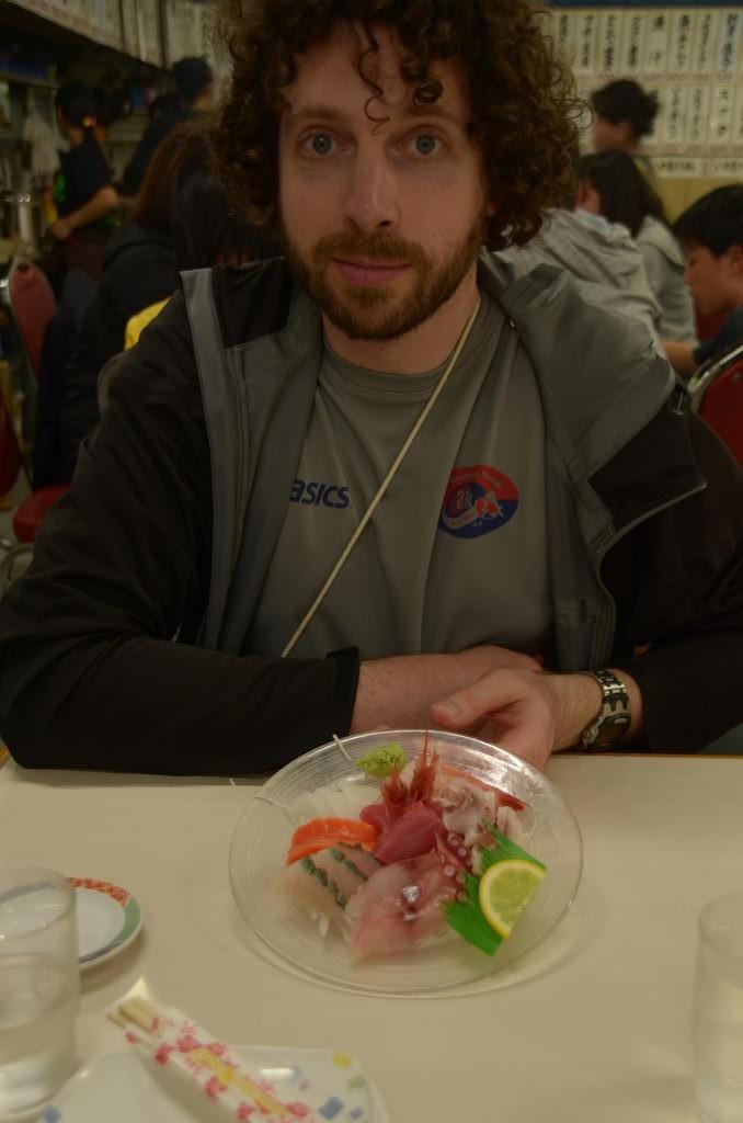 Mmmm le sashimi